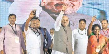 Amit Shah: BJP Will Form Strong Alliance in Tamil Nadu