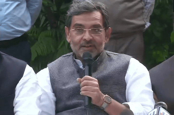 Upendra Kushwaha resigns as Union minister