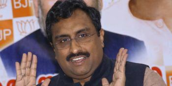 Ram Madhav says BJP is not against the assembly election in J&K