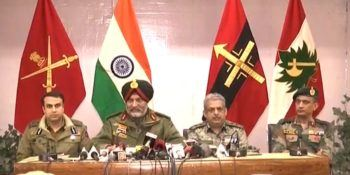 Indian Army press conference