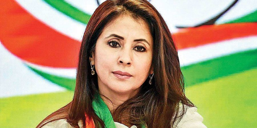 Urmila gives Cong trust in BJP fortification