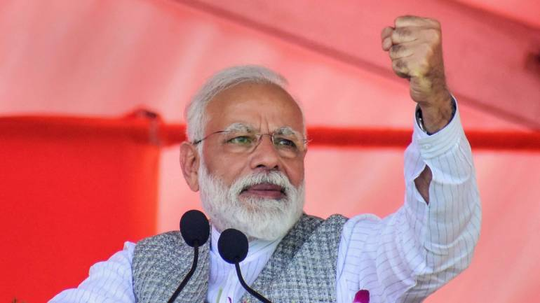 Cong Manifesto Should be Called a 'Two-faced Document': PM Modi