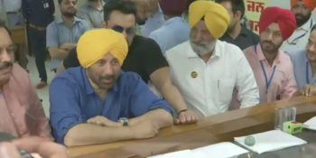 BJP's Sunny Deol files nomination from Punjab's Gurdaspur in presence of brother Bobby