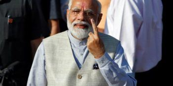 Voter ID More Powerful Than IED: PM Modi After Voting in Gujarat