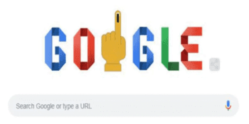 How to vote: : Google doodle does its bit for 2019 Lok Sabha Election