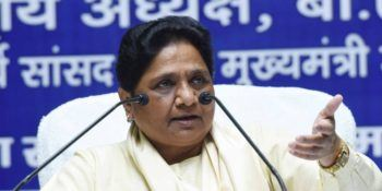 Maya threatens to reconsider support to Cong govt in MP