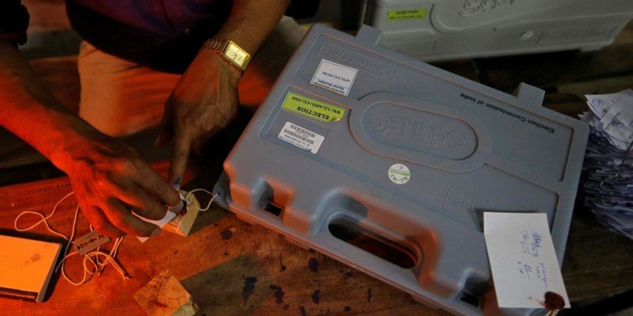 In the midst of EVM discussion, a gander at what occurs after the last vote is thrown