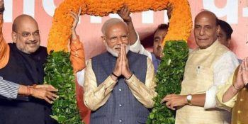 India keeps confidence in PM Narendra Modi