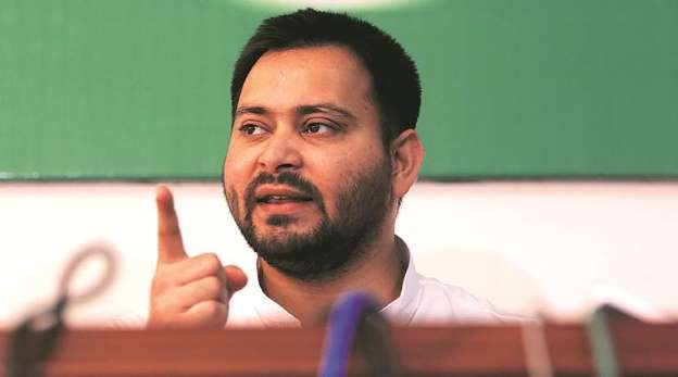 Tejashwi demands Nitish govt dismissal in Muzaffarpur case