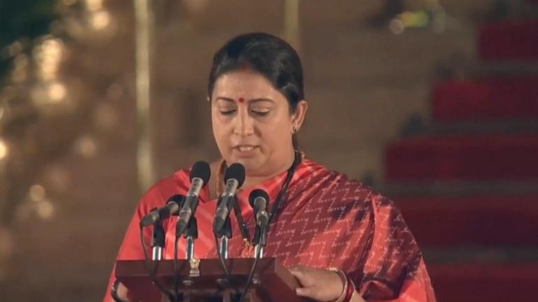 Modi Cabinet 2.0: For WCD Minister Smriti Irani, Sky is the Limit