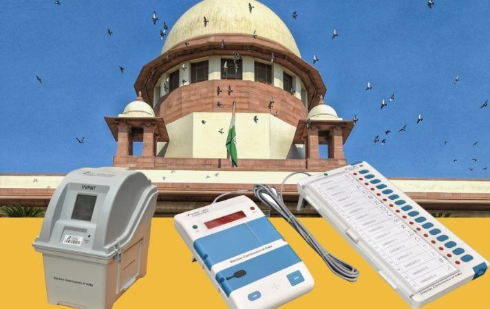 SC to Hear Review Plea Asking for half VVPAT Verification by Open
